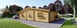 Casa in legno FILL (44 mm) 60 mq visualization 4