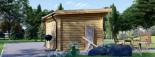 Casetta da giardino MALTA (34 mm) 3x3 m 9 mq visualization 5