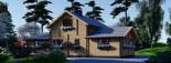 Casa in legno HOLLAND (66 mm) 113 mq + 13.25 di porticato visualization 7