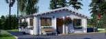 Casa in legno coibentata ALICE 72 mq visualization 8
