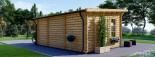 Casetta da giardino coibentata ESSEX 5x4 m 20 mq visualization 3