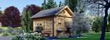 Casa in legno AVIGNON (44 mm) 20 mq + 16 mq di mezzanino visualization 5