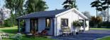 Casa in legno coibentata ADELE 68 mq visualization 4