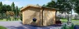 Casetta da giardino DREUX (44 mm) 4x3 m 12 mq visualization 4