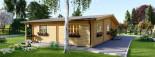 Casa in legno coibentata RIVIERA 100 mq + 20 mq di porticato visualization 6