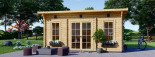 Casetta da giardino coibentata ESSEX 5x4 m 20 mq visualization 6