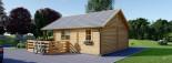Casa in legno coibentata ANGERS 36 mq + terrazza 19 mq  visualization 6