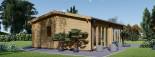 Casa in legno MARINA (44 mm) 8x6 m 48 mq visualization 4