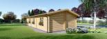 Casa in legno coibentata AVON 78 mq + 11.5 mq di porticato visualization 4