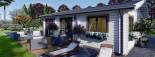 Casa in legno coibentata ALICE 72 mq visualization 10