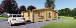 Casa in legno FILL (44 mm) 60 mq visualization 3