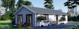 Casa in legno coibentata ANICA 71 mq visualization 4
