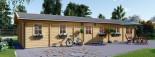 Casa in legno coibentata BRIGHTON 90 mq visualization 8