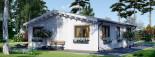 Casa in legno coibentata ALICE 72 mq visualization 6