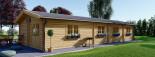 Casa in legno coibentata BRIGHTON 90 mq visualization 5
